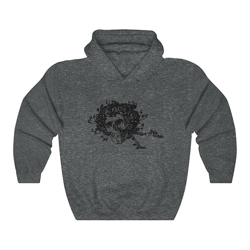 Skull & Roses Hooded Sweatshirt