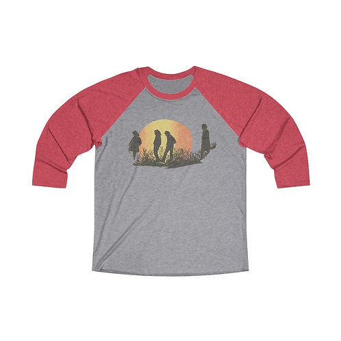Waiting For The Sun Tri-Blend 3/4 Raglan Tee