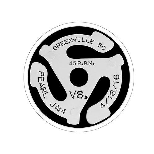 Vs. Greenville Kiss-Cut Stickers