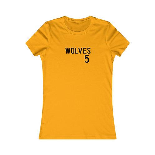 Wolves 5 Women's Favorite Tee