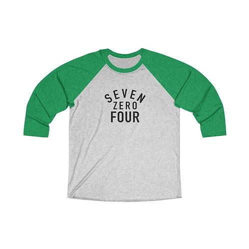 Seven Zero Four 3/4 Raglan Tee