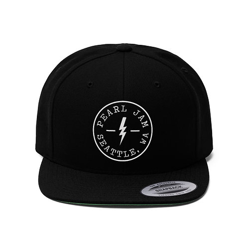 Seattle Patch Unisex Flat Bill Hat