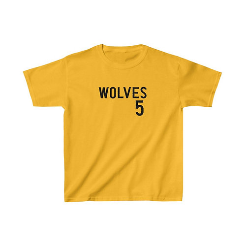 Wolves 5 Kids Heavy Cotton™ Tee