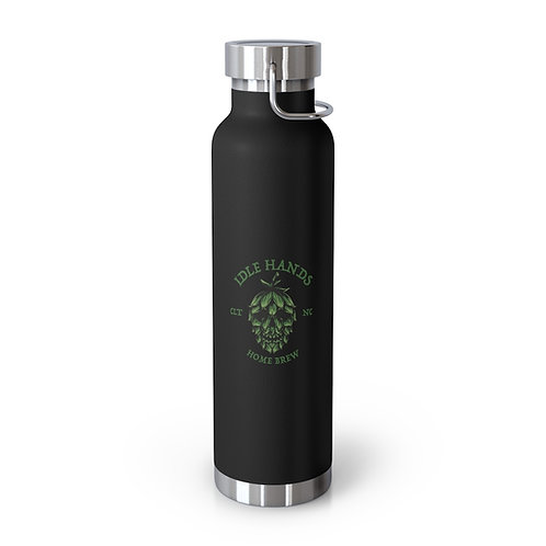 Idle Hops Home Brew 22oz Vacuum Insulated Bottle