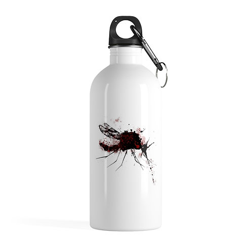 Red Mosquito Stainless Steel Water Bottle