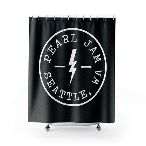 Pearl Jam Shower Curtain