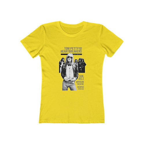 Tom Petty '79 -  Boyfriend Shirt