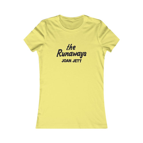The Runaways Women's Favorite Tee
