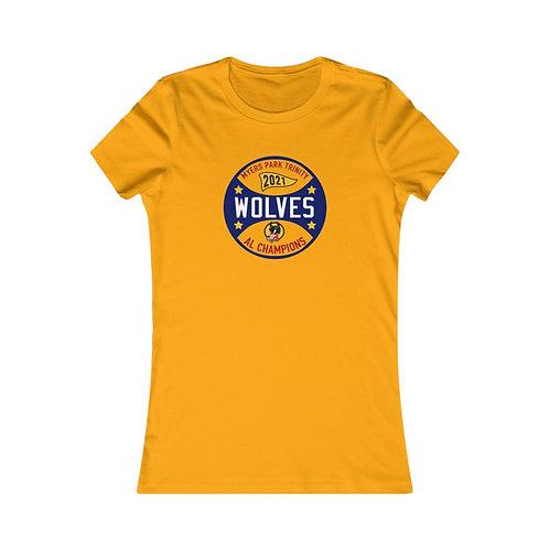 Wolves AL Champions 2021 Women's Favorite Tee