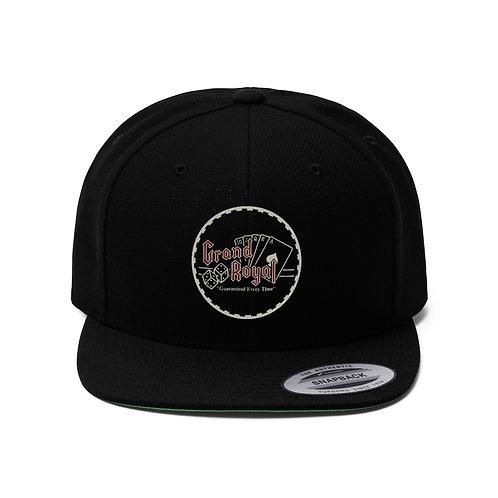 Grand Royal Unisex Flat Bill Hat