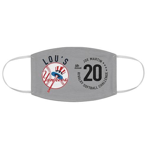 Lou's Yankees Rivalry Softball Mask