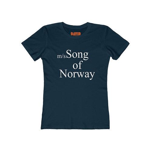 Song of Norway - Boyfriend Tee