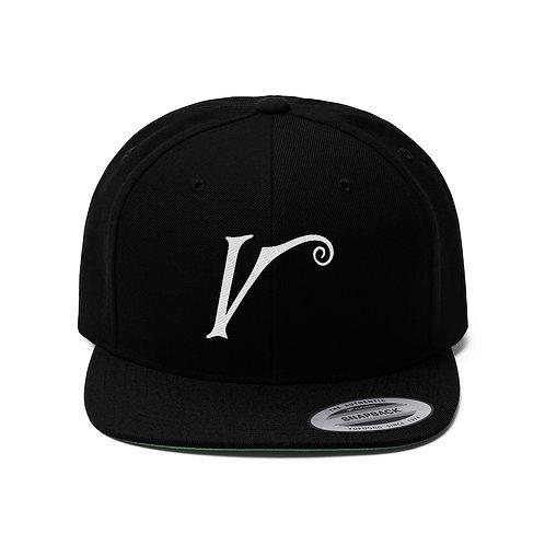 V Flat Bill Hat