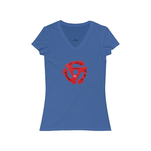 St. Louis 45rpm - V-Neck Tee