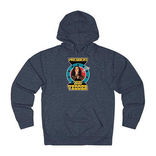 Vedder For President 2020 French Terry Hoodie