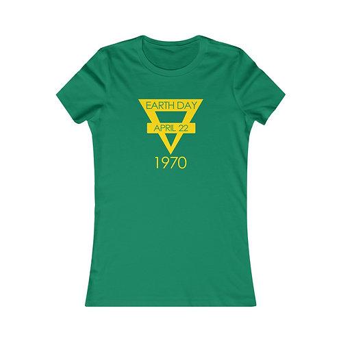 Earth Day 1970 Women's Favorite Tee