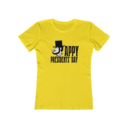 Appy Presidents' Day The Boyfriend Tee