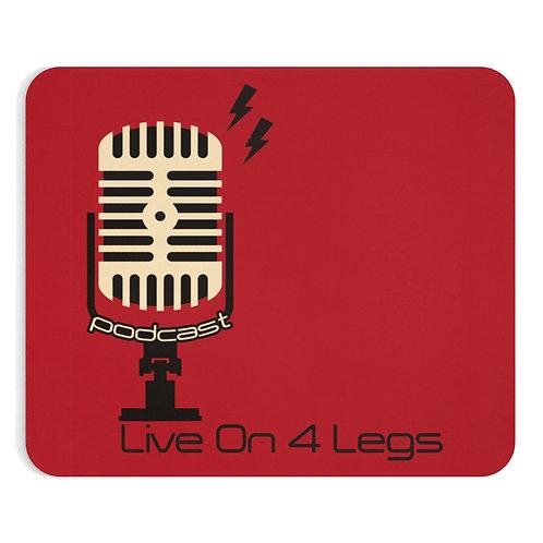 Live on 4 Legs Mousepad