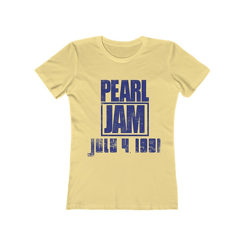 Pearl Jam 7/4/91 - Boyfriend Tee