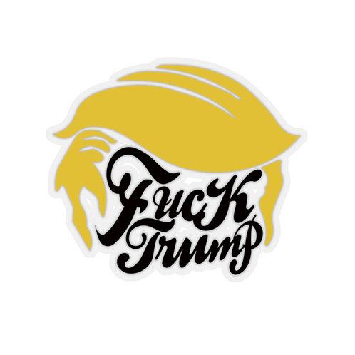 Fuck Trump Kiss-Cut Stickers