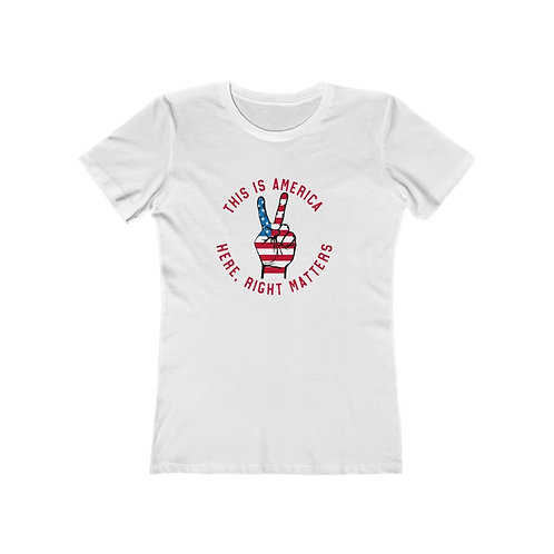 Being Right Matters The Boyfriend Tee
