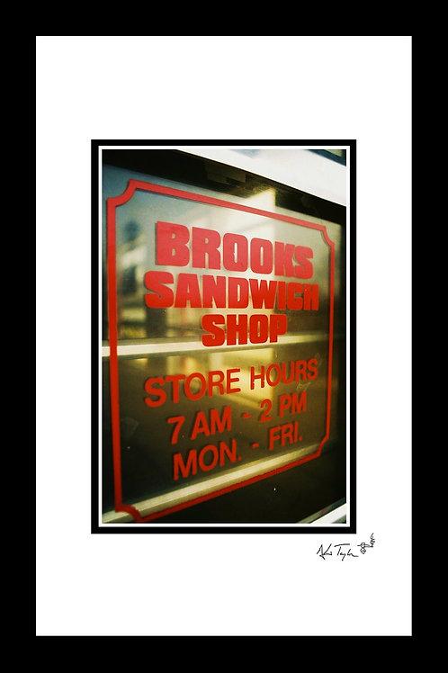 Brooks Sandwich Shop