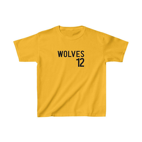 Wolves 12 Kids Heavy Cotton™ Tee