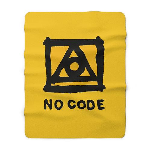 No Code Sherpa Fleece Blanket