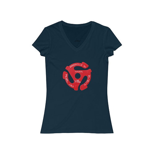 Vs. Greenville - V-Neck Tee (FRONT ONLY)