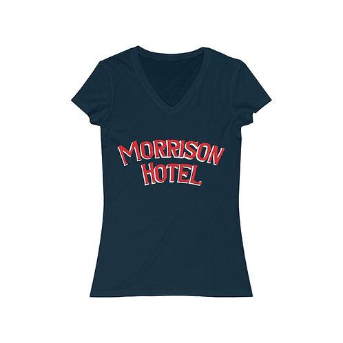Morrison Hotel V-Neck Tee