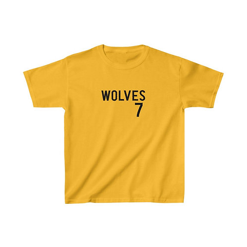 Wolves 7 Kids Heavy Cotton™ Tee