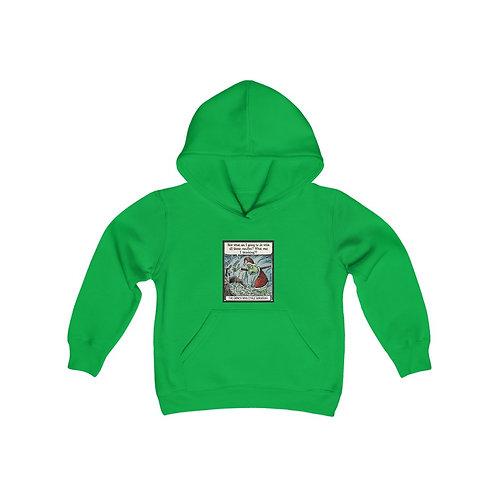 The Grinch Who Stole Hanukkah Kids Hooded Sweatshirt