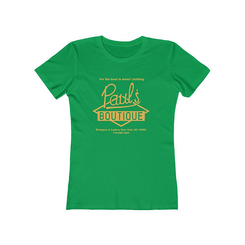 Paul's Boutique Women's The Boyfriend Tee