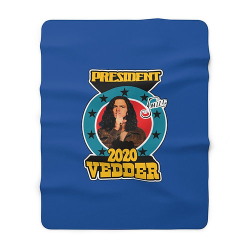 President Vedder Sherpa Fleece Blanket