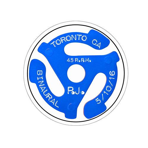 Binaural Toronto Kiss-Cut Stickers