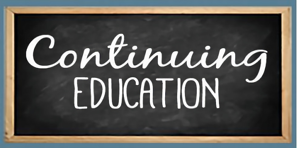 Continuing Education In-Service: Visalia