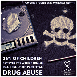 26% of children in foster care