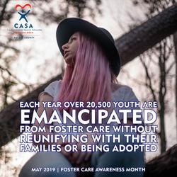 20,500 Youth are Emancipated per yea