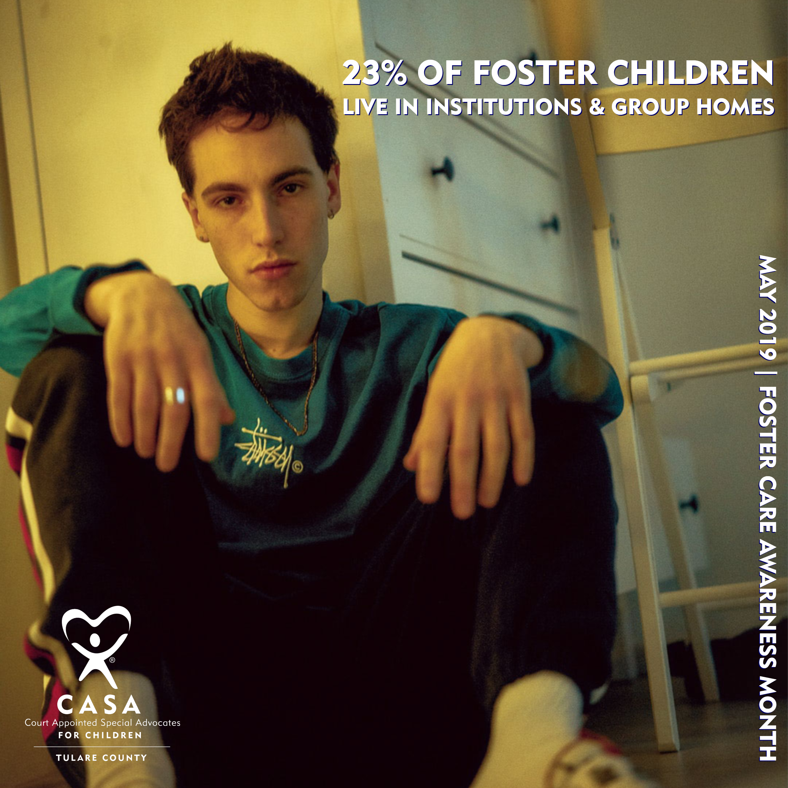 many foster youth are in group homes