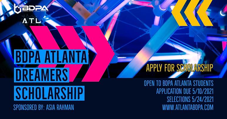 BDPA Atlanta AR Dreamers Scholarship 02