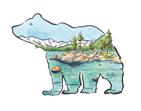 Sand Harbor Bear