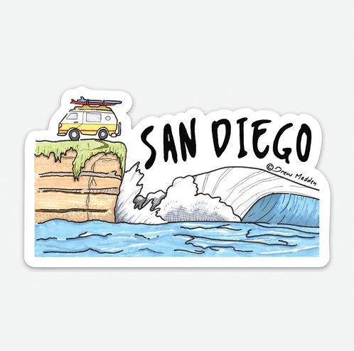 San Diego Van Cliff
