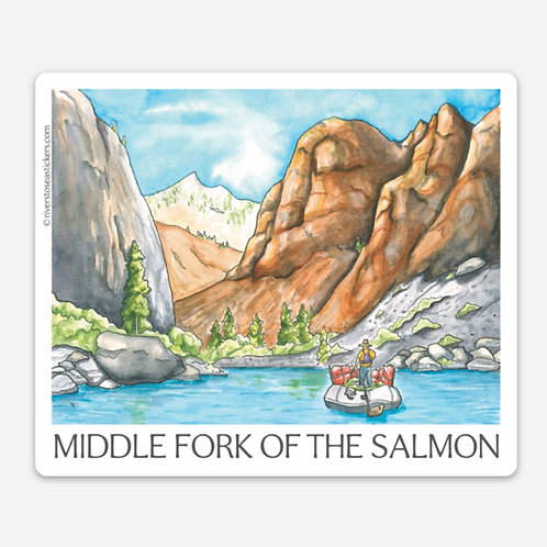 Middle Fork of the Salmon Sticker