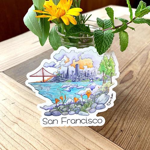 The City Sticker