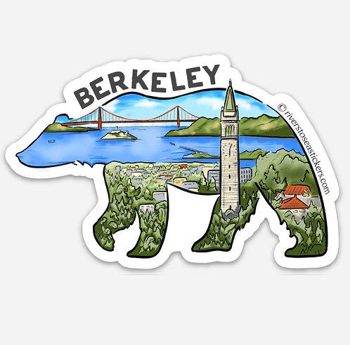 Berkeley Bear Scene