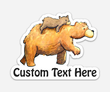 Custom Text Sticker
