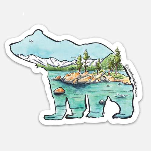 Glacial Bear Sticker