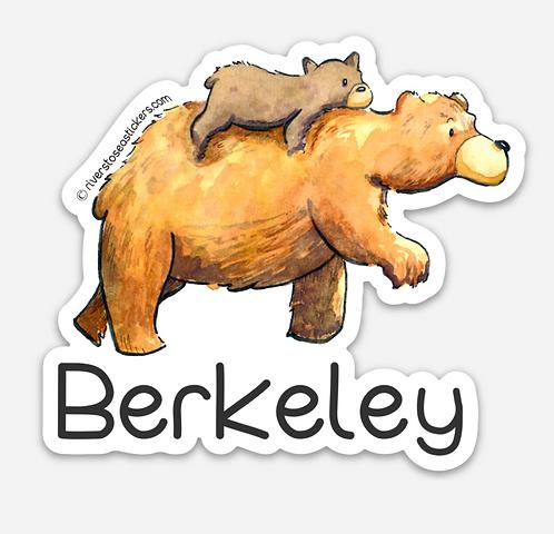 Berkeley Bear & Cub