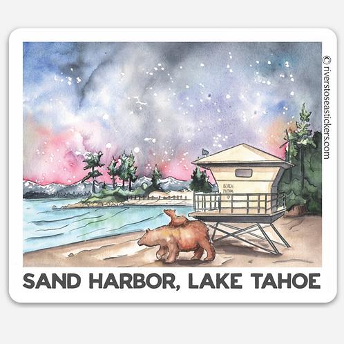 Sand Harbor Bear & Cub