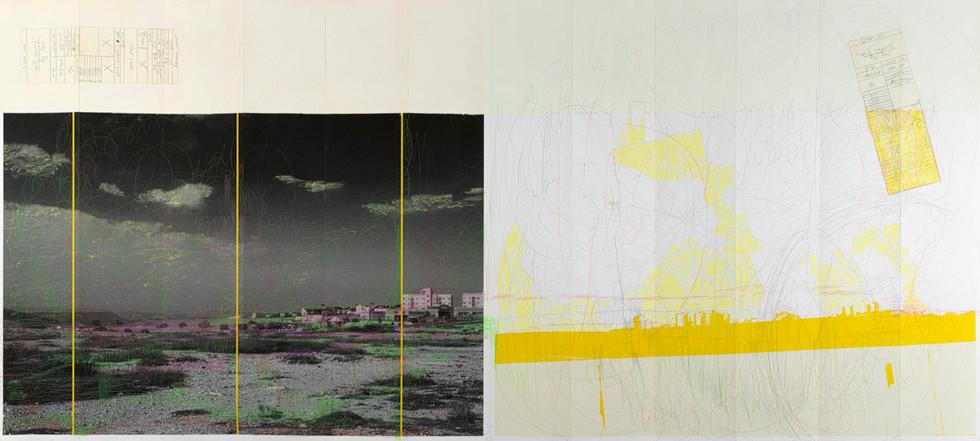 A Yellow Garmushka 2/4            Landscape folds